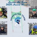 2020 Sparta Ski Team Award Winners