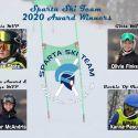 2020 Sparta Ski Team Award Winners