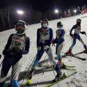JV Girls Ski Team Awaiting Start